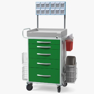 general purpose medical cart 3D model