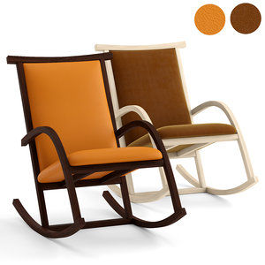 v-ray riart chair rocker 3D