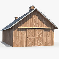 Rustic Wooden Barn