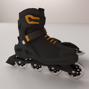 roller blade 3D model