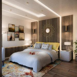 suite hotel 3D model