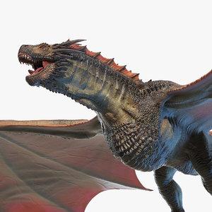 dragon wyvern 3D