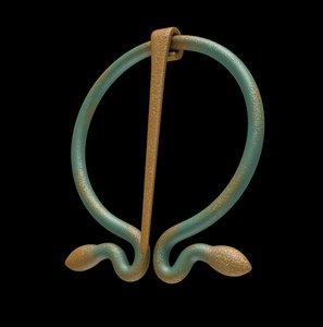 fibula antique roman 3D model