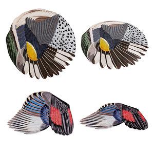 carpets cc-tapis feathers silk 3D model