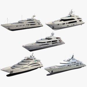3D yacht redshift model