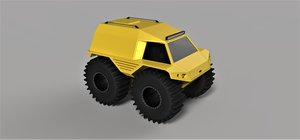 vehicle thor 3D
