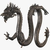 Chinese Dragon v2 Rigged