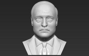 alexander lukashenko bust printing 3D model