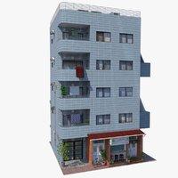 Japan Blue- Building