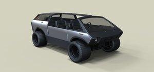 3D ark roamer model