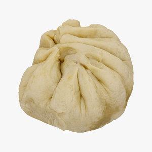 xiaolongbao dumpling raw scan 3D