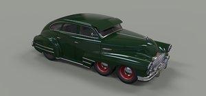 3D model six-wheeled concept