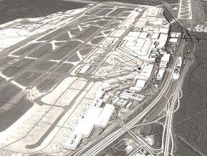 3D frankfurt airport city
