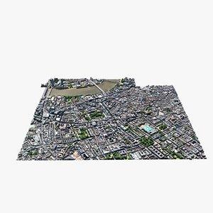 3D model london maps
