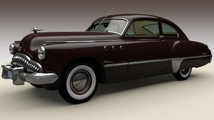 3D model sedanette buick roadmaster