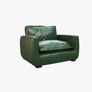 armchair v2 3D model