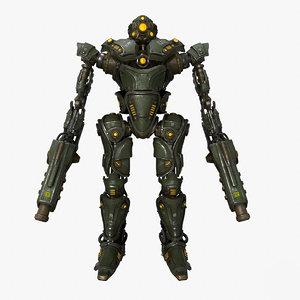 military mech 02 3D