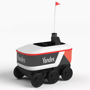 yandex delivery robot model