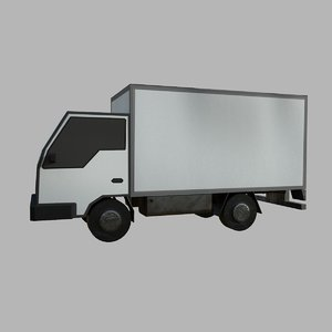truck transport vehicle 3D