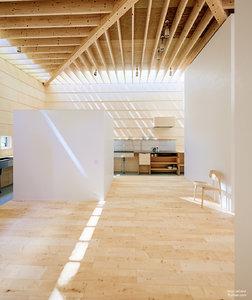 3D house light interior model