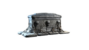 tomb scary 3D model