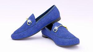 shoe footwear moccasin 3D model