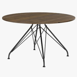table furnishing furniture 3D model