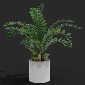 plant planter nature 3D model