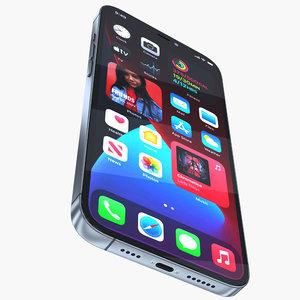 iphone 12 phone 3D model