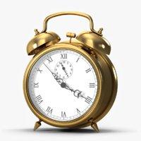 Alarm Clock Gold