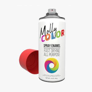 3D paint colors