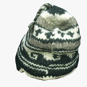 3D knit cap clothes164