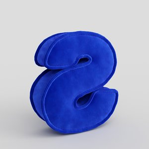 3D letter fabric alphabet