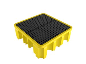 plastic barrel pallet 3D model