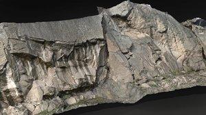 3D model rock scanned