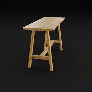 3D schoenbuch alma 0970 bench