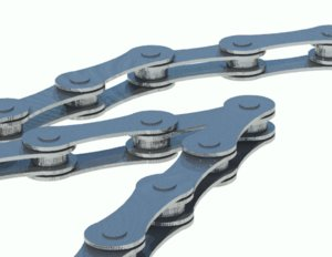 bicycle chain 3D model