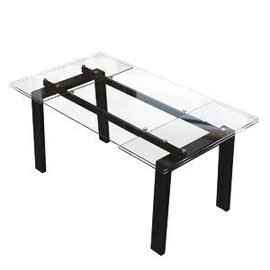 connubia zeffiro table 3D model