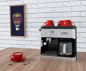 3D coffee machine delonghi bco430