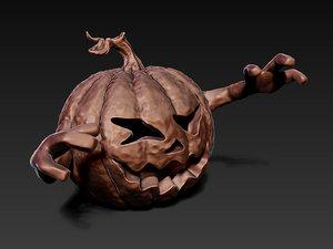3D halloween pumpkin printing