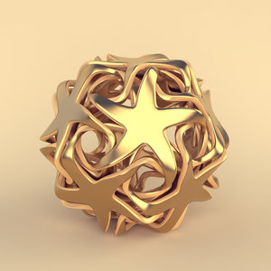 dodecahedron abstract model