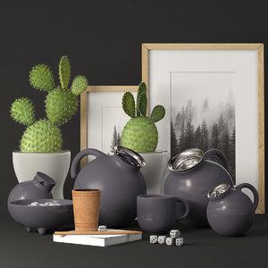 teapot mug model