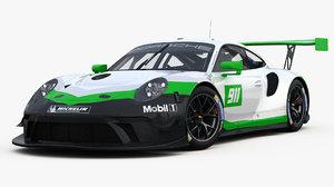 3D porsche 911 gt3 r model