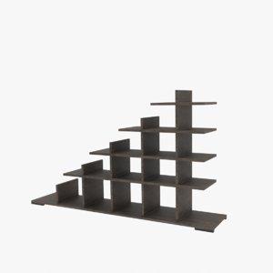 shelving wood model