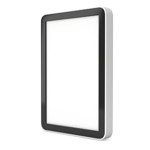 tablet pc computer blank 3D model