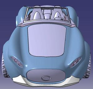 shelby cobra car 3D model