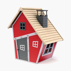 house kid 3D model