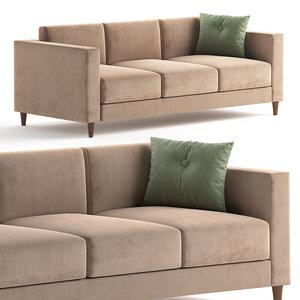 3D beverly sand sofa model