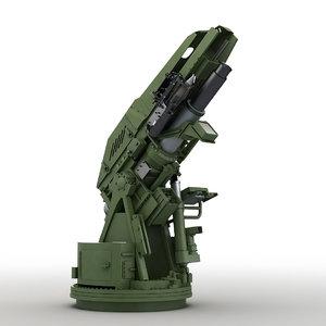 3D modern mortar