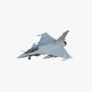3D rafale b indian air force
